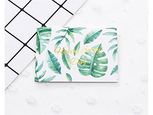 1 Stück Grußkarte Bless Card Einladungskarte Geschenkkarte Message Card (glücklich jeden Tag) Durch Znyo