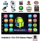Android 8.1 2 DIN Car Autoradio Bluetooth WiFi GPS Navigation 7 Pulgadas Universal Car Radi Stereo Car Multimedia MP5 No Reproductor de DVD