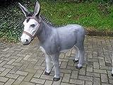 Lebensgroße Figuren Shop Esel - Tierfiguren - Eselfiguren - Krippenfigur - BD201