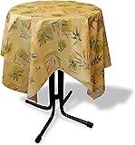 GearUp Wachstuch Tischdecke für Draußen und Drinnen - Wetterfest abwaschbar Pflegeleicht -in Verschiedenen Mustern im Landhaus Stil Farbe Lavendel Größe 100 cm x 140 cm