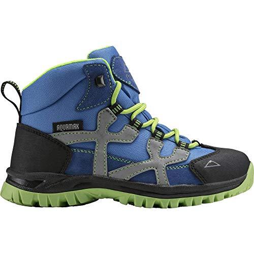 McKINLEY Unisex-Kinder Santiago Pro Aquamax Trekking-& Wanderstiefel, Grün (Green Lime/Blue Dark 906), 30 EU