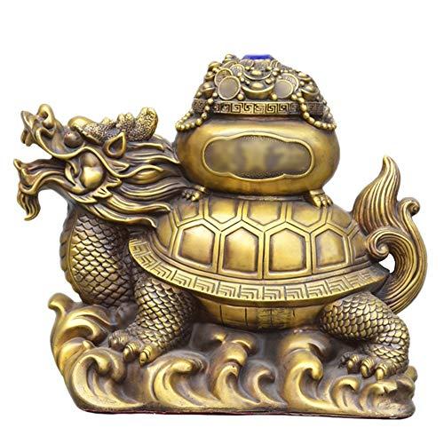 gon Turtle Ornamente Einweihungsparty Geschenke Home Crafts Dekoration Collectibles Statue Innenausstattung Feng Shui Decor (Size : 33 * 36 * 23cm) ()