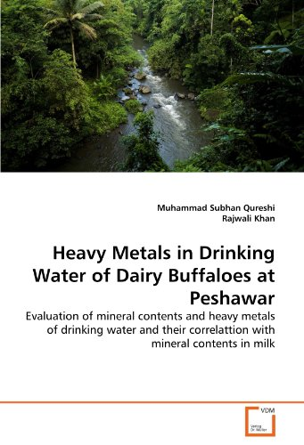 Heavy Metals in Drinking Water of Dairy Buffaloes at Peshawar