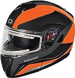 Best Modular Snowmobile Helmets - Castle X Atom SV Tarmac Electric Modular Snowmobile Review