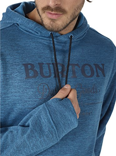 Burton Herren Oak Pullover Hoodie Mountaineer Heather