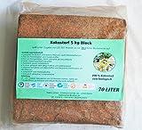 2x70L Kokoserde - 100 %ige Kokoserde aus Sri Lanka - geeignet für Garten- und Topffplanzen - torffrei - einfache und schnelle Aufbereitung - biologisch abbaubar, kompostierbar und schadstoff- und chemikalienfrei