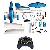 Aereo telecomandato 2.4G, Schiuma dell'aereo EPP RC ad ala fissa fai da te GD006 - Giocattolo a distanza dell'aeroplano dei giocattoli a distanza per bambini/adulti / Principianti