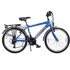 24 zoll jungen fahrrad 21 gang shimano mit beleuchtung farbe blau tmx sport freizeit. Black Bedroom Furniture Sets. Home Design Ideas