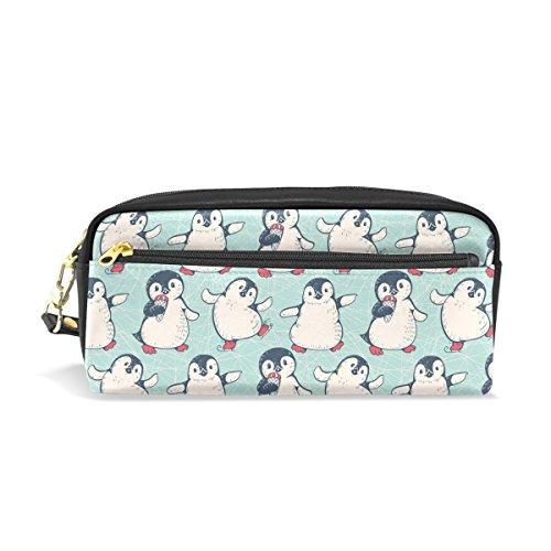 ng Pinguin Bleistift Fall Pen Bag Pouch Coin Geldbörse Kosmetik Make-up-Tasche ()