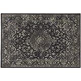 Alfombra colección Sitap – Alfombra Persa Diseño Oriental clásico gris Antares 57109 – 3636