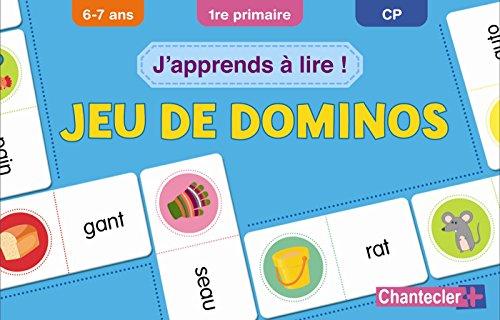 J'apprends à lire ! : Jeu de dominos (6-7 ans)