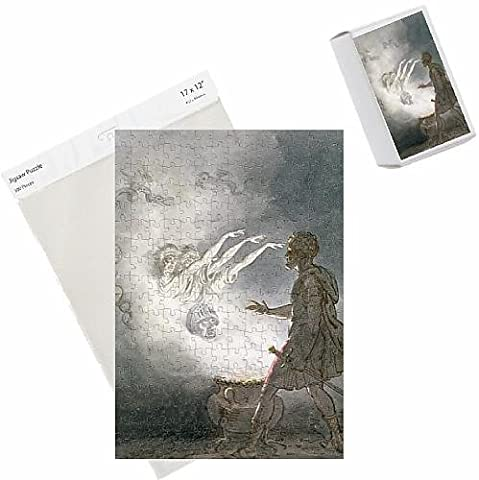 Photo Jigsaw Puzzle of Macbeth and the Apparition of the Armed Head, Act IV, Scene I, from