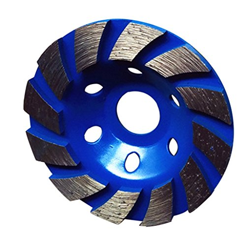 Grinding Wheel Concrete Cup Disc 4inch Alloy DIY Polishing Wood Marble Blue