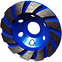 MagiDeal Cortador de Forma de Tazón Muela de Diamante Disco Piedra de Hormigón Herramienta 100mm - Azul
