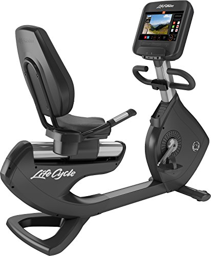 Life Fitness Recumbent Bike Platinum Club Series, Discover SE3 Konsole