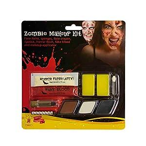 Rubies- Kit Maquillaje Zombie para Mujer, Talla única (Rubie