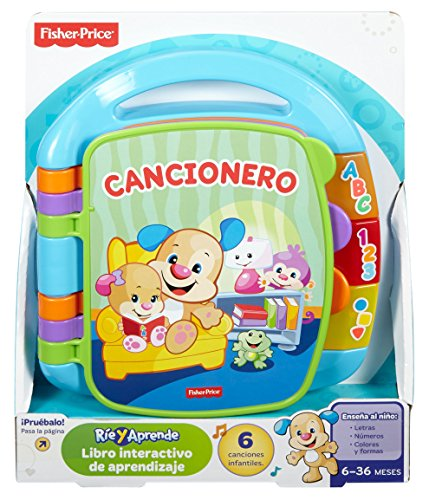 Infant Libro interactivo para aprendizaje Fisher-Price (Mattel DTM98)
