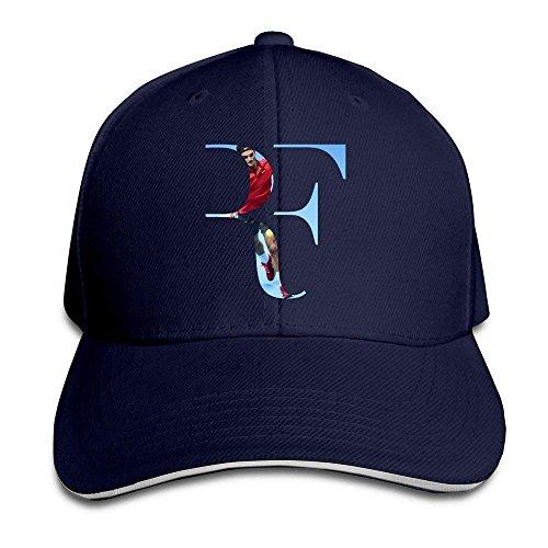 Cap Hat Sunny Fish6hh Unisex Adjustable Roger Federer Baseball Caps Hat One  Size Navy 3375cd72247