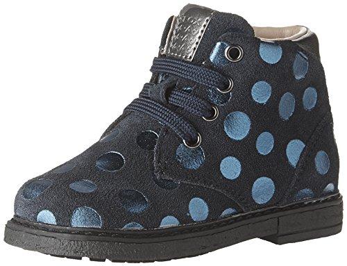 Geox Baby Mädchen B Glimmer C Stiefel, Blau (Navy), 22 EU