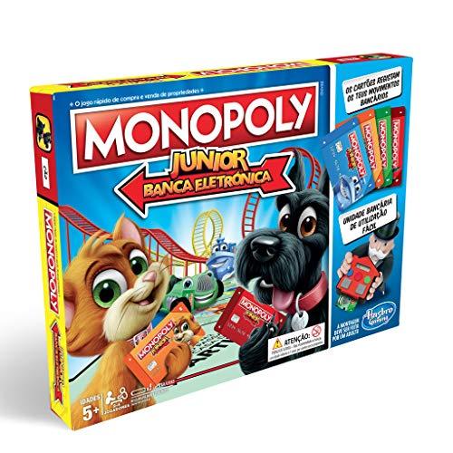 Monopoly - Junior Electronico Hasbro E1842190