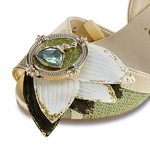 Disney Store Deluxe Tiana Costume Shoes Princess and The Frog Size ()