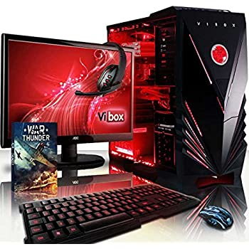 VIBOX Apache 9XW - Ordenador para gaming (21.5