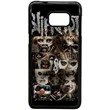 Samsung Galaxy Note 5 Edge Cell Phone Case Black Heavy Metal Band Slipknot Custom Case Cover A11A570689