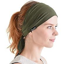 4a2a33ac8f7489 CHARM Casualbox Vorgebunden Stirnband Boho Haar Band Sommer Herren Damen  Kopf Wickeln