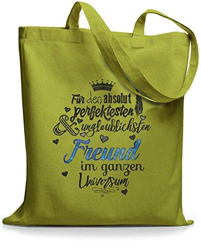 StyloBags Jutebeutel / Tasche Für den absolut perfektesten Freund Kiwi