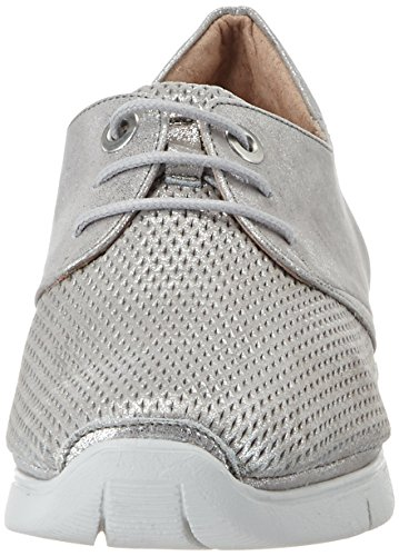 Hispanitas Guinea, Sneakers basses femme Silber (ISLA-V7 ACERO MAGIC-V7 ACERO)
