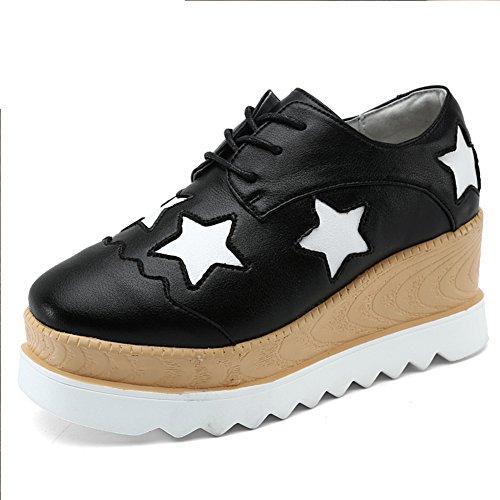 Casual chaussures femme/Chaussures de dames/Ladies chaussures avec des semelles épaisses/Chaussures de Dame A