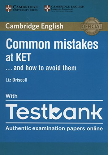 Common Mistakes at KET... and How to Avoid Them Paperback with Testbank