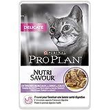 Pro Plan Cat Delicate Truthahn, 24er Pack (24 x 85 g) Beutel