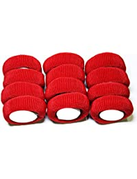 Shyam Hosiery Red-Super Hair Rubber Band_Pack Of 2 (24 Pcs)
