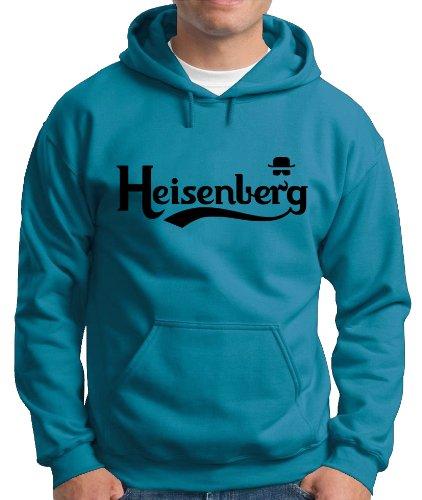 Touchlines Herren Kapuzenpullover Heisenberg Fly Sweatshirt, divablue, M, B130513KS Preisvergleich