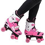 Loch XR-1 Girls' Adjustable Roller Skates Size 1-4