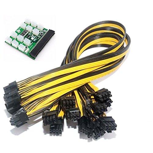 r Power Konverter Board + 1250cm 6+ 2PIN Power Kabel ()