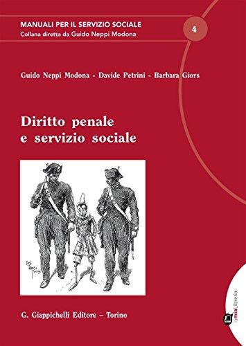 Diritto penale e servizio sociale
