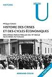 Image de Histoire des crises et des cycles économiques: Des crises industrielles du 19e siècle aux crises actuelles