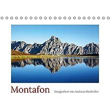 Montafon (Tischkalender 2018 DIN A5 quer): Der Fotokalender zeigt die Region Montafon in Vorarlberg. (Monatskalender, 14 Seiten) (CALVENDO Orte) [Kalender] [Apr 01, 2017] Riedmiller, Andreas