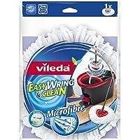 2x Vileda Easy Wring y limpia microfibra fregona Refill cabeza
