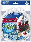 Vileda Mop-Bezug, einfach auswringen und säubern, Mikrofaser, 2 Stück