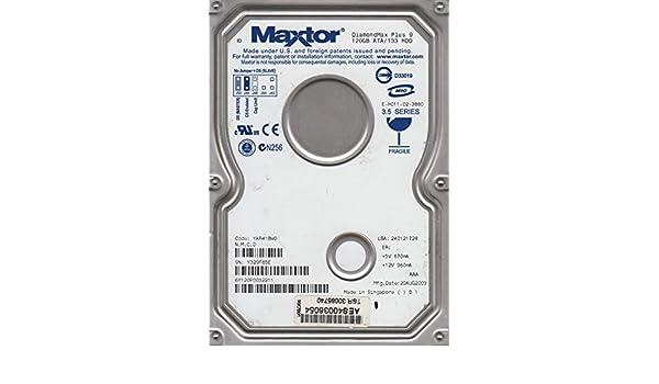 Code YAR41BW0 NMCD Maxtor 120GB IDE 3.5 Hard Drive 6Y120P0