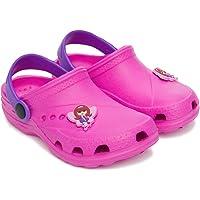 Duna Ast Girls' Clogs. for Summer/Garden/Pool, Multicolour. Size 9/10/10.5/11/12/13 Child UK; 1/2 UK