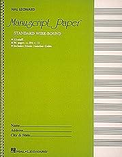 Standard Wire Bound Manuscript Paper: Green Cover