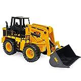 OOFAY Ferngesteuerterrig Bagger 2.4G Elektrisches Modell Sechs-Kanal Strand Traktor Auto Spielzeug