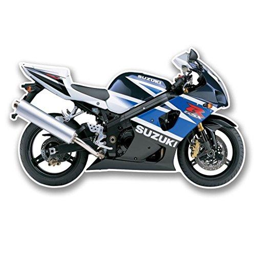Preisvergleich Produktbild 2x SUZUKI GSXR Motorrad vinyl Aufkleber Aufkleber Laptop Reise Gepäck Auto Ipad Schild Fun # 6302 - 20cm/200mm Wide