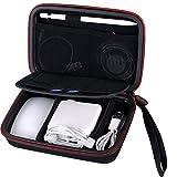 Smatree A90 Custodia Rigida pour Apple Pencil, Magic Mouse, Adattatore di Alimentazione Magsafe 1, Cavo di Ricarica Magnetico