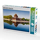 Verbotene Stadt in Peking, China 1000 Teile Puzzle quer (CALVENDO Orte)