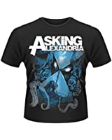 Official T Shirt ASKING ALEXANDRIA Reckless HOURGLASS